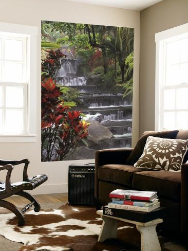 Spa and Gardens of Tabacon Hot Springs, Costa Rica Giant Art Print