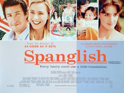 Spanglish Originalposter
