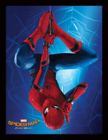 Spider-Man Homecoming - Hängend (Rückkehr von Spider-Man) Sammlerdruck