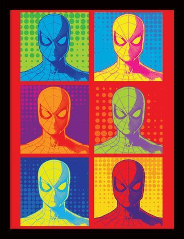 Spider-Man Homecoming - Pop Art (Rückkehr von Spider-Man) Sammlerdruck