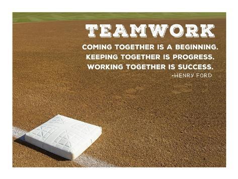 Teamwork Kunstdruck