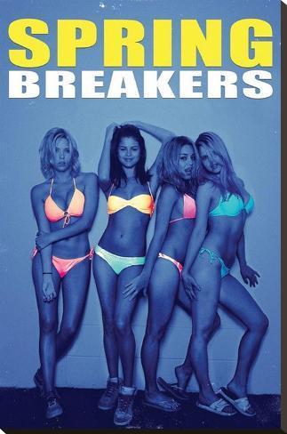 Spring Breakers Movie Poster Bedruckte aufgespannte Leinwand