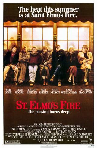 St. Elmo's Fire– Die Leidenschaft brennt tief Neuheit