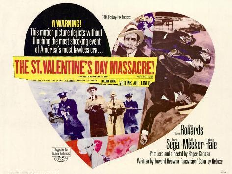 St. Valentines Day Massacre, 1967 Kunstdruck