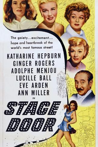Stage Door Kunstdruk