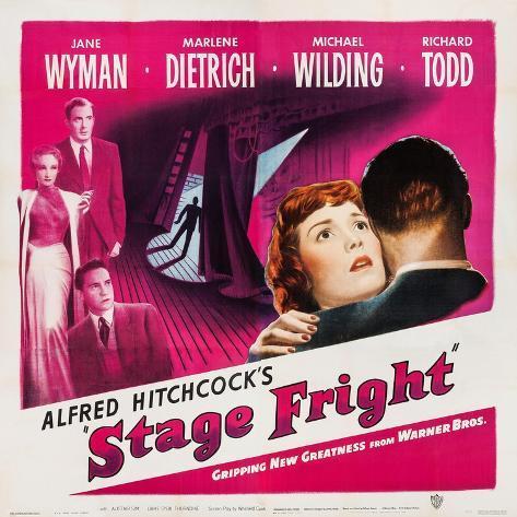 Stage Fright, 1950 Kunstdruck
