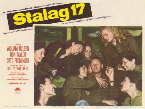 Stalag 17, 1953 Kunstdruck