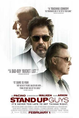 Stand Up Guys (Al Pacino, Alan Arkin, Christopher Walken) Movie Poster Neuheit