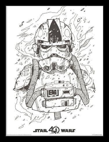 Star Wars 40-jarig jubileum - At-At Pilot Verzamelaarsprint