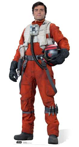 Star Wars Episode VII: The Force Awakens - Poe Dameron Pappfiguren