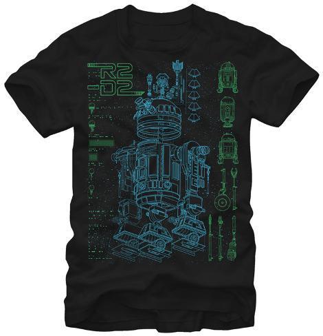 Star Wars- Inside R2-D2 T-Shirt
