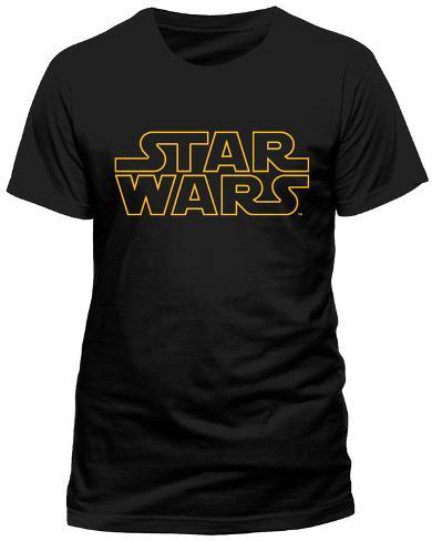 Star Wars - Logo Outline T-Shirt