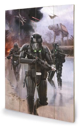 Star Wars Rogue One - Death Trooper Beach Holzschild