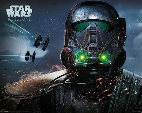 Star Wars: Rogue One- Death Trooper Close Up Mini-Poster