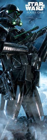 Star Wars: Rogue One- Death Trooper Fully Armed Türposter