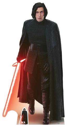 Star Wars VIII The Last Jedi - Kylo Ren - Mini Cutout Included Pappfiguren