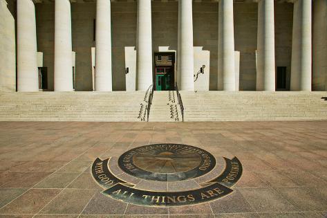 State Capitol of Ohio, Columbus Fotografie-Druck