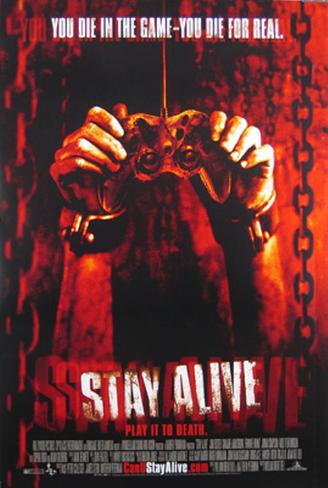 Stay Alive Doppelseitiges Poster