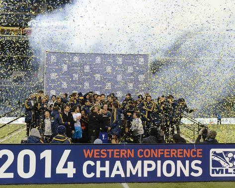 2014 MLS Western Conference Championship: Nov 30, LA Galaxy vs Seattle Sounders Foto