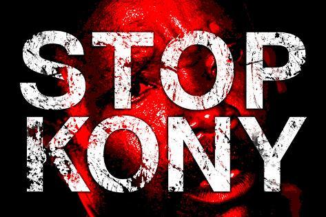 Stop Joseph Kony 2012 Face Political Poster Poster