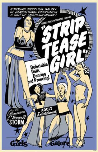 Strip Tease Girl Neuheit