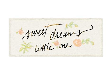 Sweet Dreams Little One Poster Van Sue Schlabach Bij Allpostersnl