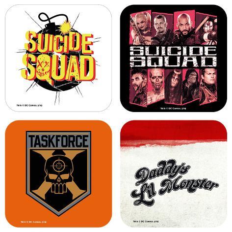 Suicide Squad Mix Coaster Set Onderzetter