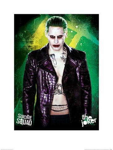 Suicide Squad- The Joker Kunstdruck