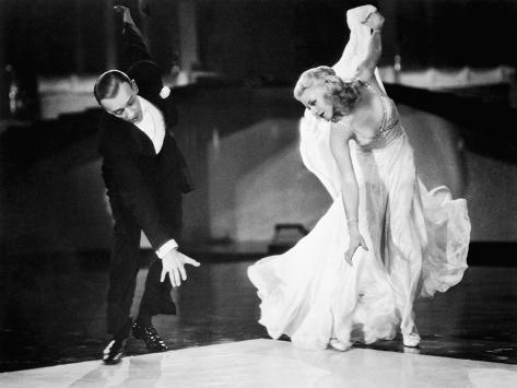 Swing Time, Fred Astaire, Ginger Rogers, 1936 Foto