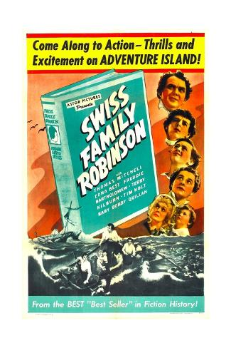 Swiss Family Robinson Kunstdruck