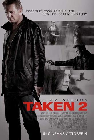 Taken 2 Movie Poster Neuheit