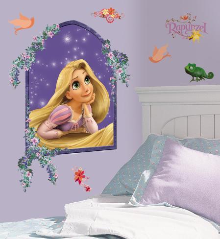 Tangled - Rapunzel Peel & Stick Giant Wall Decal Muursticker