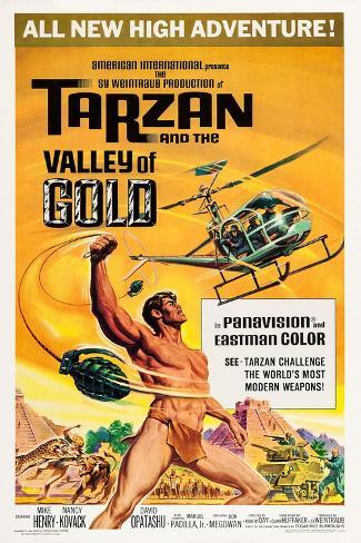 Tarzan and the Valley of Gold Kunstdruck