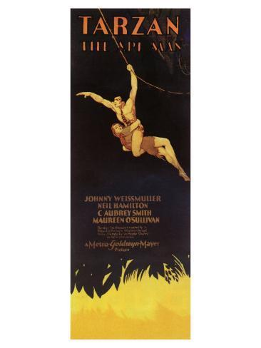 Tarzan The Ape Man, 1932 Kunstdruck