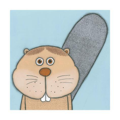Super Animal - Beaver Kunstdruck