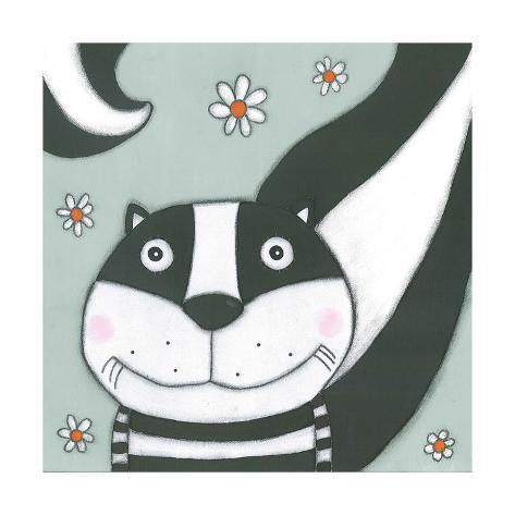 Super Animal - Skunk Kunstdruck
