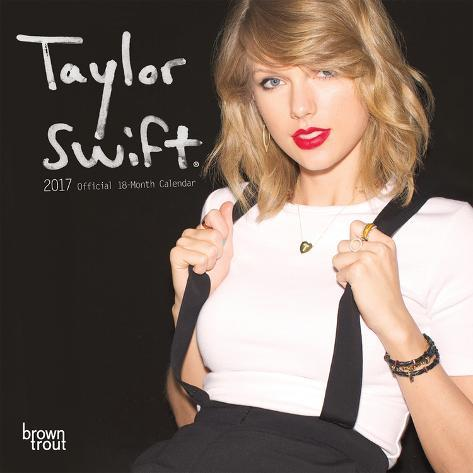 Taylor Swift - 2017 Mini Calendar Kalenders