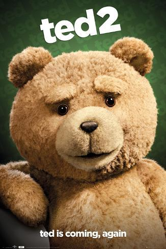 Ted 2 Close Up Poster