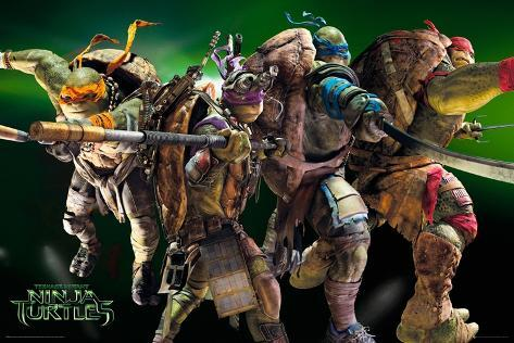 Teenage Mutant Ninja Turtles Movie Poster Bij Allpostersnl