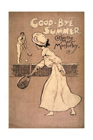Tennis Book Cover Giclée-Druck