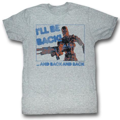 Terminator - Be Back T-Shirt