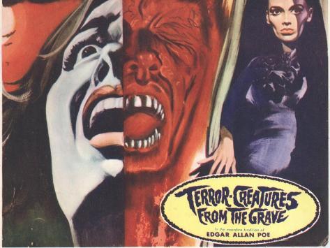 Terror Creatures From The Grave, 1966 Kunstdruck