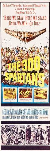 THE 300 SPARTANS Kunstdruck