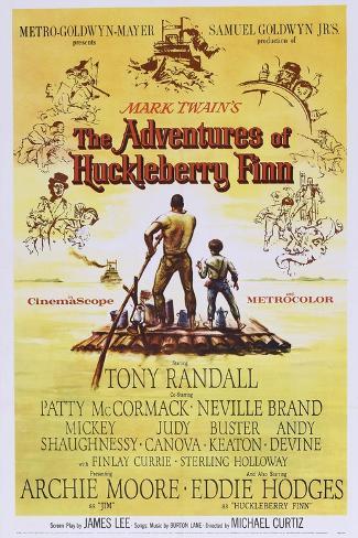 The Adventures of Huckleberry Finn Kunstdruk