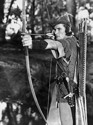 The Adventures of Robin Hood, 1938 Fotografie-Druck