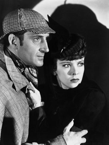 The Adventures of Sherlock Holmes, 1939 Fotografie-Druck