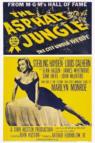 The Asphalt Jungle, 1950 Kunstdruck