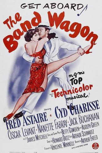 THE BAND WAGON, Cyd Charisse, Fred Astaire, 1953 Kunstdruk