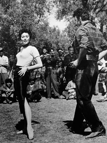 The Barefoot Contessa, 1954 Fotografie-Druck