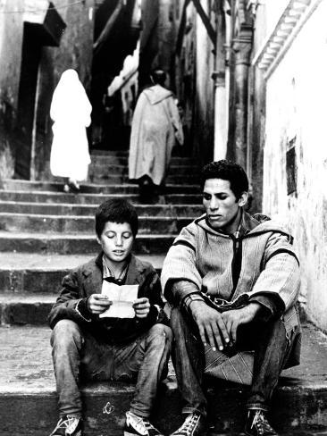 The Battle Of Algiers, Mohamed Ben Kassen, Brahim Haggiag, 1965 Foto